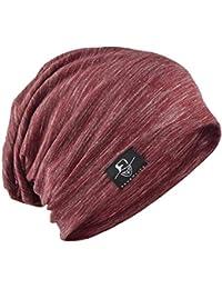 Weimilon Sombrero De Los Hombres Primavera con Moda Beanie Color Otoño  Estilo único Sólido Sombrero Exterior 34dccd7d517