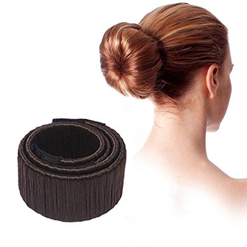 Damen Dutt Hilfe Haar Styling Frisurenhilfe Haarschmuck Haar clip Mädchen Hair Styling Tool Donut Hair Bun Maker French Twist Haar Brötchen Styling Braid Halter Werkzeug für lange und dicke Haare