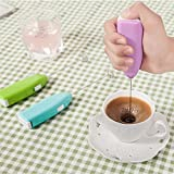 Orpio 2Pcs Portable Hand Blender Mixer Froth Whisker Lassi Maker For Milk Coffee Egg Beater
