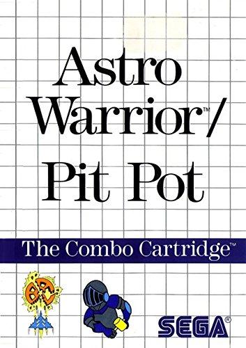 Astro Warrior / Pit Pot - Sega Mastersystem (PAL)
