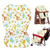 Amcho Cochecito de bebé para silla de paseo, Cojín para Coche, Protector de Cojín de Coche, Almohadilla transpirable (Patrón animal)