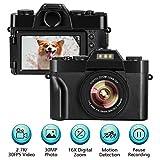 fotocamera digitale macchina fotografica per vlogging videocamera 2.7K 30FPS...