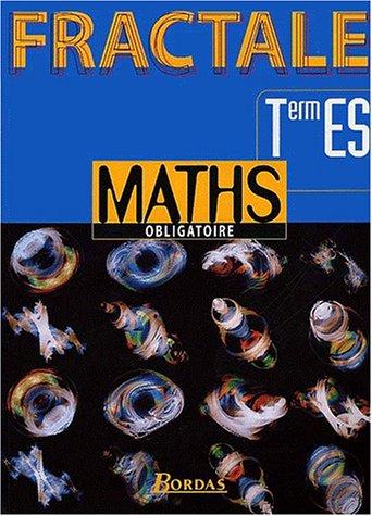 Mathématiques, terminale ES. Obligatoire 98 par Bontemps