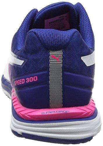 Puma Speed 300 Ignite Wn, Chaussures de Running Compétition femme Rose (Knockout Pink-true Blue-puma White 07)