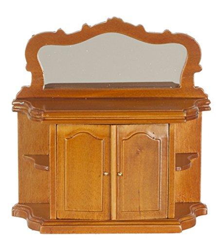 melodie-jane-maison-de-poupes-noix-sideboard-avec-miroir-miniature-mobilier-de-salle-manger-112