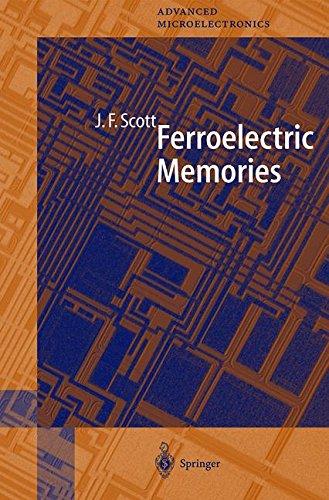 Ferroelectric Memories par James Frazier Scott