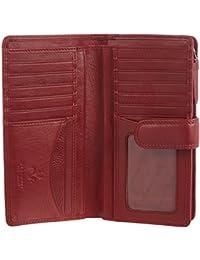 "Visconti Portefeuille Bifold Cuir Femme ""Heritage"",Luxury Leather Purse(HT34):"