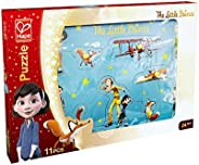 Hape The Little Prince 10Pcs Puzzle , 24M+ - Light Blue