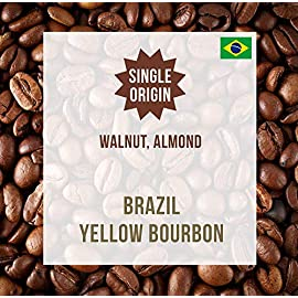 Brazil Yellow Bourbon 1KG – Single Origin Coffee Beans – Coffee World