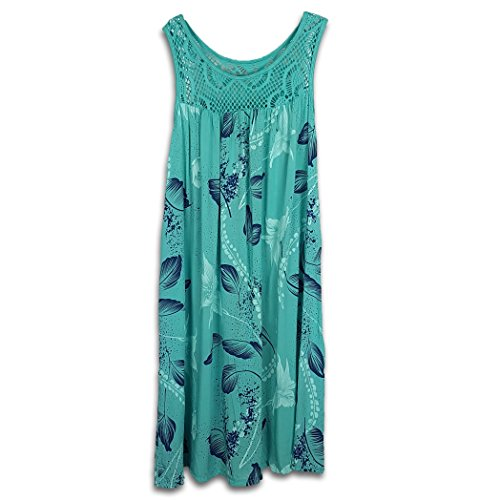 JMTI-Boutique Women's Plus Size Dress Boho Hippie Summer Floral