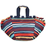 reisenthel EASYSHOPPINGBAG, Poliestere, Multicolore (Artist Stripes), 51 cm