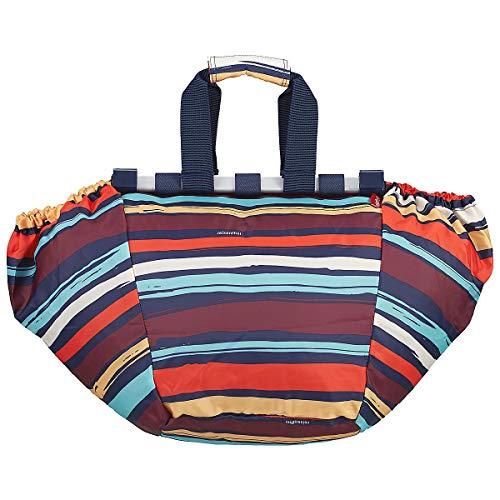 Reisenthel Easyshoppingbag Borsa Messenger, 51 cm, 30 Liters, Multicolore (Artist Stripes)