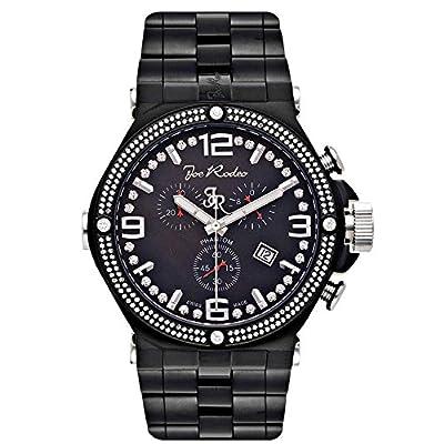 Jojo Joe Rodeo Phantom Mens Diamond Watch 2.25Ct Black