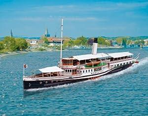 "aue-verlag 61x 13x 23cm, kit de modelo ""Paddle steamer hohentwiel"