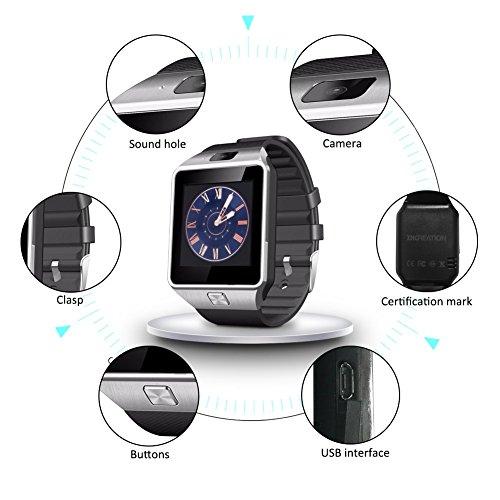 Hipipooo Dz09 Bluetooth Smart Watch With Sim Card Slot