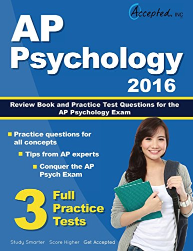 AP Psychology 2016 Study Guide: AP Psychology Review Book and Practice Test Questions for the AP Psychology Exam (Ap Psychology Exam Review Book)