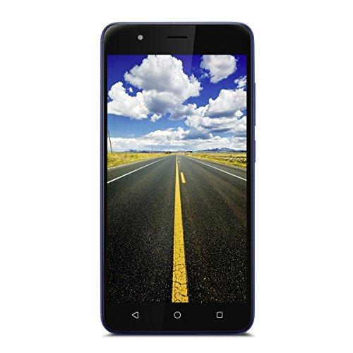 Gigaset GS270 Plus Smartphone/Handy - (13,3 cm (5,2 Zoll) Touch-Display, 32 GB Speicher, Android 7.0) – Mobiltelefon; Urban Blue (Blue Handy)