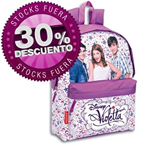 Mochila Violetta Disney Passport grande