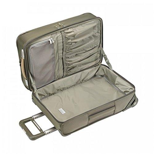 Briggs & Riley Equipaje de @ referencia referencia Domestic equipaje de mano vertical bolsa de la ropa, verde oliva (verde) - U175-7
