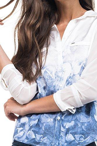 Salsa Chemisier Imprimé - Femme Blanc