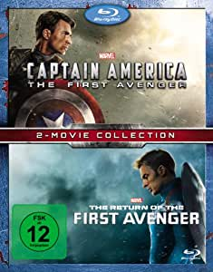 Captain America - The First Avenger + The Return of the First Avenger [Blu-ray]