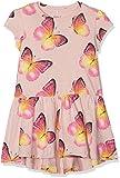 NAME IT Baby-Mädchen Kleid NMFKIMMIE SS Dress, Rosa Peachy Keen, 80