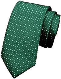 NiSeng Corbata Jacquard Largo 145 cm Corbata de Boda Regalo de Navidad Lazo Corbatas para Trabajo/Negocios/Fiesta Hombre