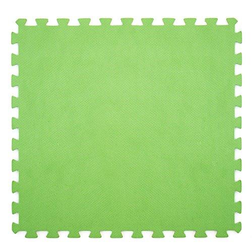 Lot de 6 tapis verts de 60 x 60 cm pour fond de piscine, protection antidérapante 43864