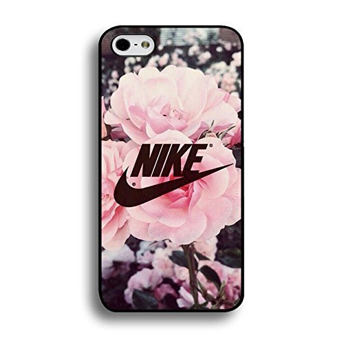Appealing Floral Background Design Nike Phone hülle Handyhülle Cover for Iphone 6 Plus/6s Plus 5.5 Zoll Just Do It Luxury Pattern,Telefonkasten SchutzHülle