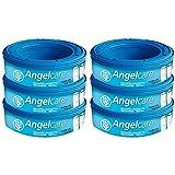 Angelcare Windelentsorgungssystem, Nachfüllkassetten, 6 Stück.