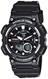 Best Casio Kids Digital Watches - Casio Youth-Combination Analog-Digital Black Dial Men's Watch Review