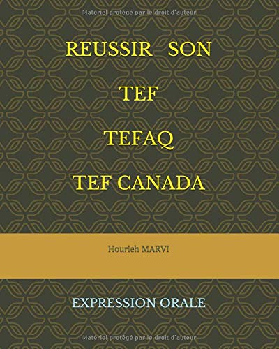 PDF Gratuit REUSSIR SON TEF TEFAQ TEFCANADA - En Livre