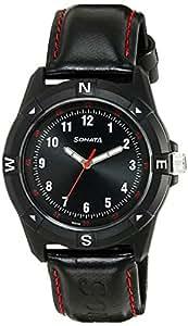 Sonata Analog Black Dial Men's Watch - 7983PP02J