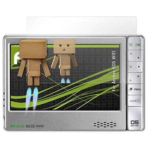 atFoliX Displayschutz für Archos 605 Wifi Spiegelfolie - FX-Mirror Folie mit Spiegeleffekt (Archos 605 Screen Protector)