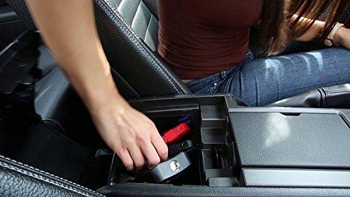 51W8gxeNUJL - Mini portátil coche de arranque Ivation banco de la energía con 12,000 mAh de capacidad - batería de coche con el impulso de suministros de 400 amperios - Características de la luz LED y doble dispositivo USB puertos de carga