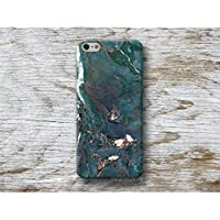 Blau Marmor Stein Hülle Handyhülle für iPhone X XR XS MAX 4 4s 5 5se se 5C 5S 6 6s 7 Plus iPhone 8 Plus iPod 5 6
