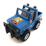 #5: Nissan Jeep Toy for kids | Miniature/Model Jeep | Die-Cast Vehicle Toy | Pull back and Go | Blue Color