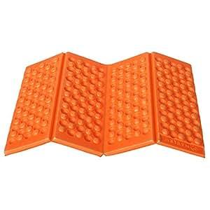 isomatten matratze outdoor klappbar wasserdicht matratze in den ferien camping orange. Black Bedroom Furniture Sets. Home Design Ideas
