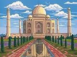 Mammut 109103 - Malen nach Zahlen Taj Mahal
