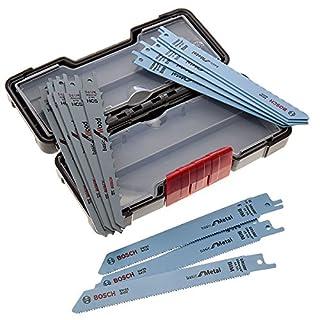 Bosch Professional 2607010901 Professional Säbelsägeblatt Set, 1 V, schwarz, 15 Stück