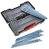 Bosch 2607010901 Set de 15 Lames de scie sauteuse wood and metal basic s 918 AF (5x)/ S 918 BF (5x)/ S 617 K (5x)