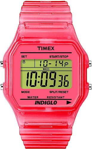 Orologio TIMEX TIMEX 80 TRANSPARENT Unisex - T2N805