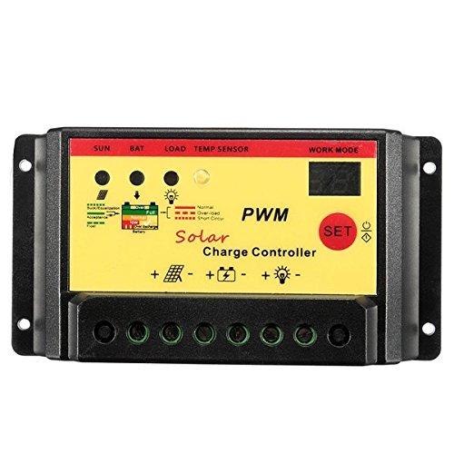 Werse 15A 12 V 24 V Intelligente PWM Solarpanel Laderegler Auto Batterie Regler