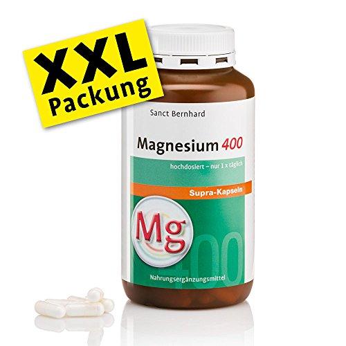 Sanct Bernhard Magnesium-400-300 Kapseln, 1er Pack (1 x 229 g)