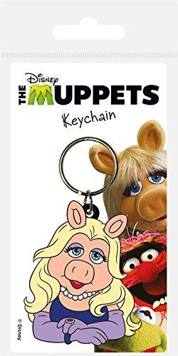 The Muppets Miss Piggy Gummi Schlüsselanhänger (Gürtel-hänger Schlüsselanhänger)