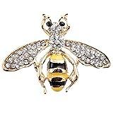Schöne Legierung Strass Biene Tier Brosche Pins