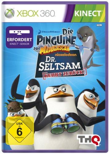 Preisvergleich Produktbild Die Pinguine aus Madagascar: Dr. Seltsam kehrt zurück (Kinect erforderlich)