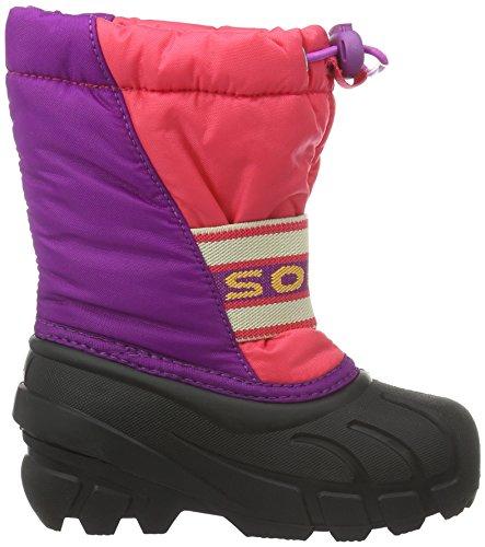 Sorel Childrens Cub, Unisex-Kinder Schneestiefel Pink (Afterglow, Bright Plum 634Afterglow, Bright Plum 634)