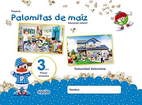 Proyecto Palomitas de Maíz. Educación Infantil. 3 Años. Primer Trimestre, Incluye DVD