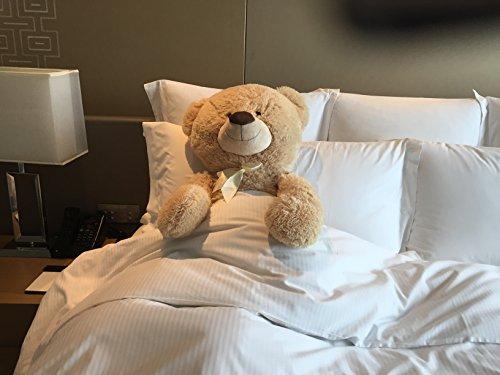 Large Teddy Bear XXL 100 cm Plush Soft Cuddly Toy with Cuddly Bear Theme for Loving